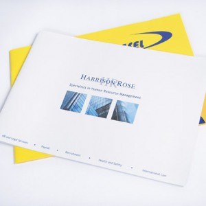 A4 Landscape Booklets : 100gsm Silk