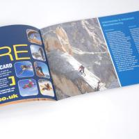A5 Landscape Booklets : 170gsm Silk