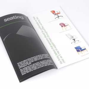 Premium Gloss Perforated & Folded Leaflets