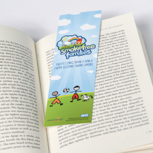 400gsm Matt Laminated Bookmarks