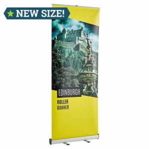 Edinburgh Banner Stand and Poster