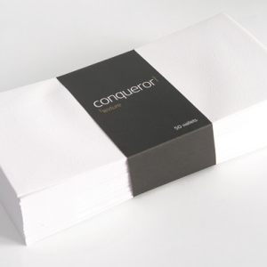 Conqueror Spot-UV briefpapier