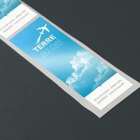 Maxi-étiquettes adhésives papier