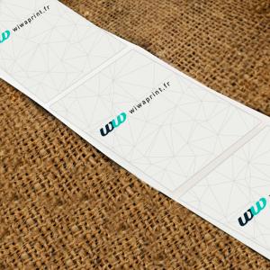 Mini-étiquettes adhésives papier