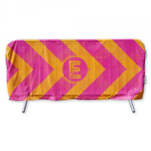 Crowd Barrier Cover