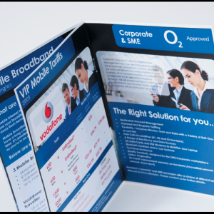 Digital A4 Booklets : With Border : 150gsm