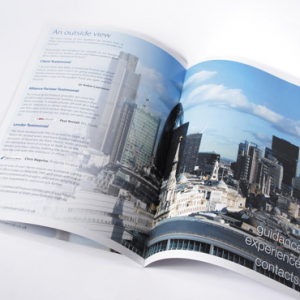 Digital A4 Booklets : Thin White Border : 170gsm