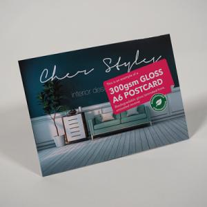 300gsm Gloss Postcards