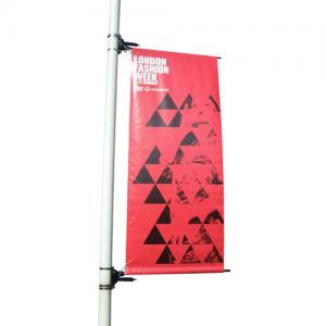 Bannière de lampadaire
