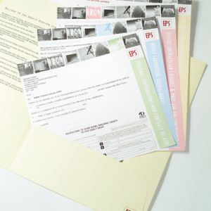 170gsm Silk Folder Inserts