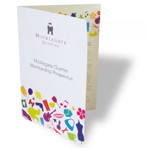 Saver Uncoated Folded Leaflets
