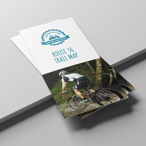150gsm Gloss Folded Leaflets