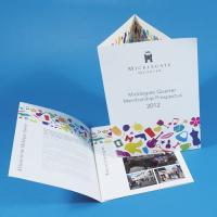 130gsm Gloss Folded Leaflets