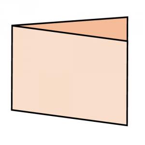 400gsm Matt Lam Folding Business Cards
