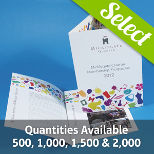 130gsm Gloss Folded Leaflets