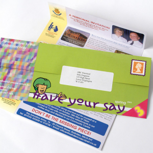One-piece Mailers