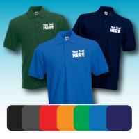 Full Colour Polo Shirt Printing - Unisex