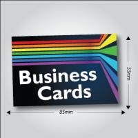 350gsm Silk Business Cards
