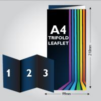 130gsm Tri- Folded Leaflet