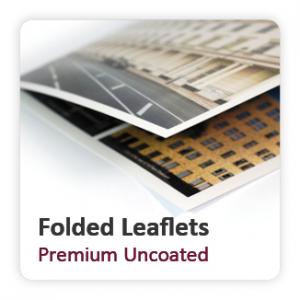 Premium Uncoated Folded Leaflets