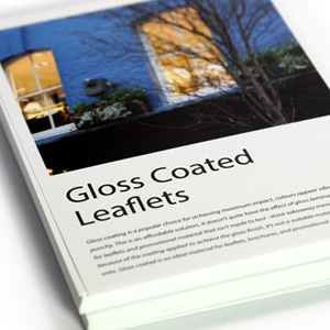 Gloss Coated Leaflets