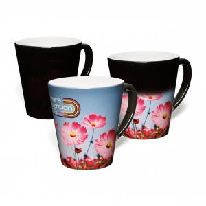 Small Latte Colour Change Photo Mugs
