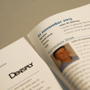 150gsm Gloss Perforated & Folded Leaflets