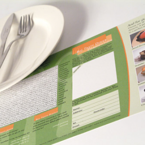 160gsm Uncoated Place Mats
