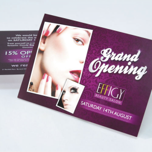 Luxury Bio Laminated Flyers