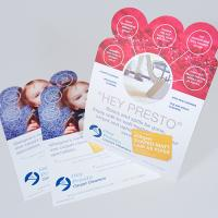 250gsm Shaped Matt Lam Flyers