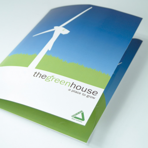 Gloss Laminated Peel & Stick Folders