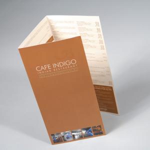 Flyer / Plaquette pelliculage mat