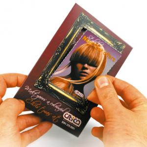 Premium Silk Showcards Gevouwen of Gestanst
