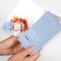 400gsm Voucher Cards