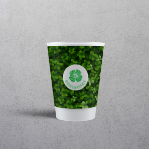 Printed Biodegradable Paper Cups