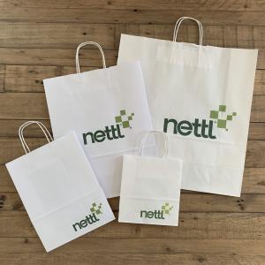 Twist Handled Printed Paper Bags
