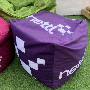 Cube Bean Bag Indoor Use