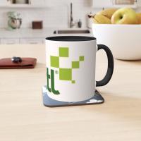 Two Tone 11oz Ceramic Mug
