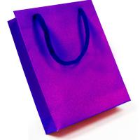 Kraft White Ribbed Bags