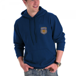 Embroidered Hooded Sweatshirts
