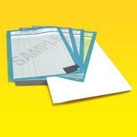 4 Part Carbonless NCR Pads