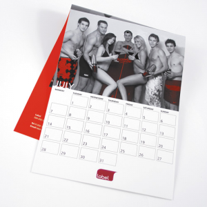 100gsm Uncoated 14 Mth Calendars : 1 Page Per Mth
