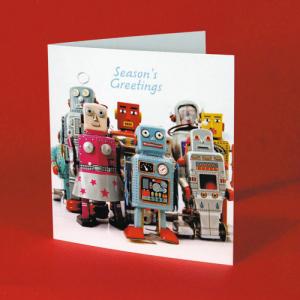 400gsm Gloss Laminated Christmas Cards
