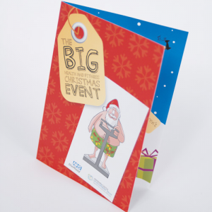 Cartes de Noël Blanc Brut