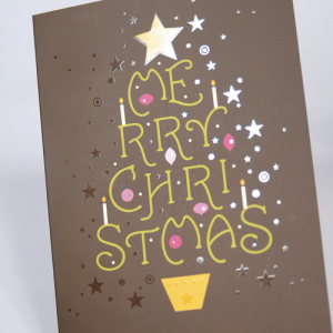 StarMarque Spot UV Christmas Cards