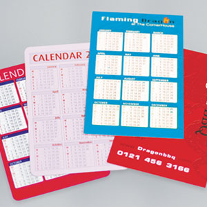 400gsm Silk Pocket Calendars