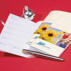 Promo Diaries - personalised inners