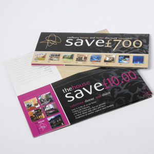 1/3rd A4 Perforated Voucher Booklets