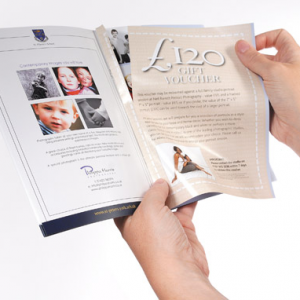 A6 Perforated Voucher Booklets