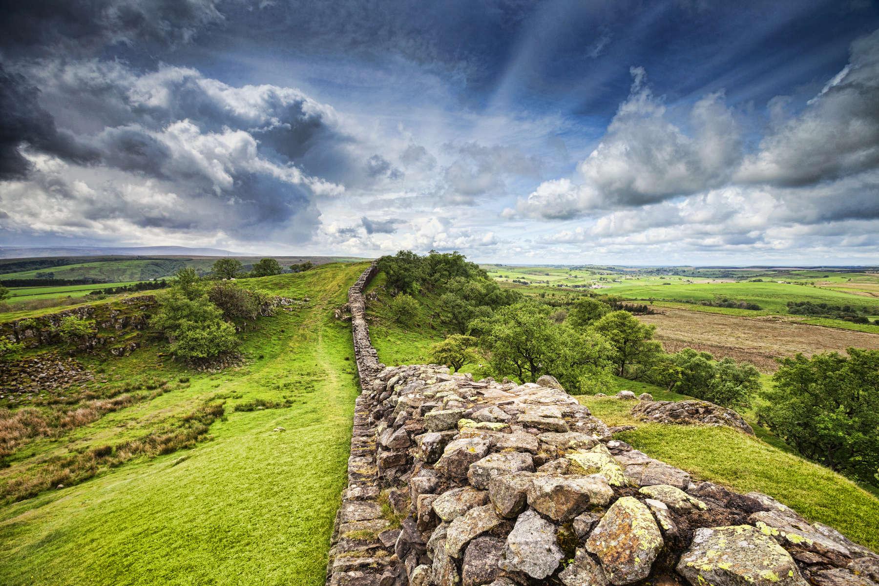 Hadrians Wall Northumberland